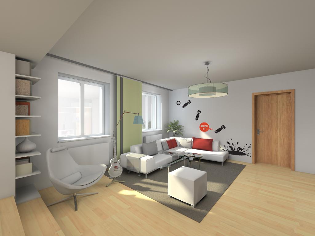 rekonstrukce bytu v Benešově